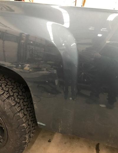 After Vehicle Dent