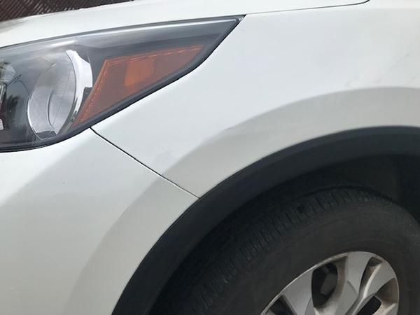After Repairing Dent