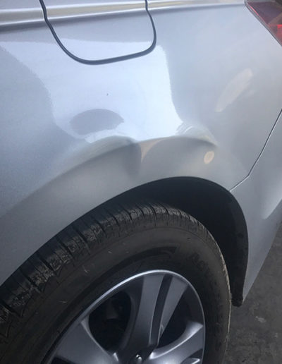 Before Dent Removal