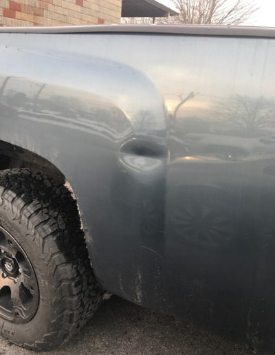 Side of Truck Ding