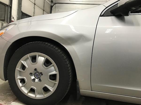 Front Car Dent