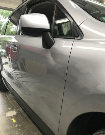 Before Dent Removed